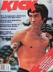 Rare 7/80 Kick Premier Issue Dan Inosanto Bruce Lee Karate Kung Fu Martial Arts