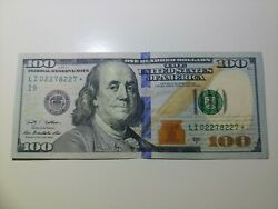 2009 A 100 Star Note - 100usd - Lightly Circulated