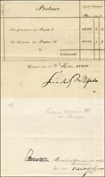King Prussia Frederick William Iv - Document Signed 12/17/1840