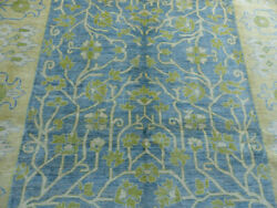 8'x10' New Supreme Quality Blue Hand Knotted Wool Tree Of Life Oriental Area Rug