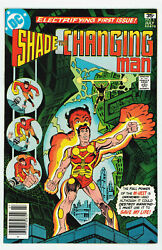 Shade The Changing Man 1 9.0 1st Rac Shade Appearance Ow Pgs 1977