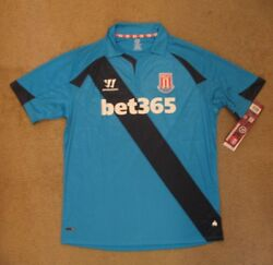 Warrior Stoke City Away Jersey New Tags In Bag Xl
