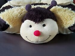 Pillow Pets Large yellow black bee