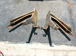 1964-1965 Thunderbird Front Bumper Brackets.matched Set In Good Condition.