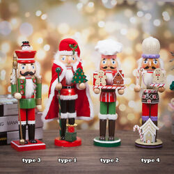 Wooden Soldier Guard 35cm Tall Christmas Holiday Decor Classic Nutcracker Guard