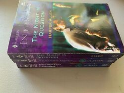 Lot Of 3 Harper Allen Harlequin Intrigue Romance The Night In Question +