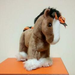 Hermes Hermy Baby Horse Plush Doll Brown Total Length 33cm From Jp Condition Gd