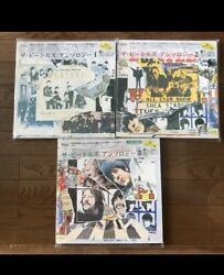 Beatles Japan Bundle Anthology 1-3. All Vinyl And Covers Nm-m