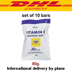 Vit. E 10x Whitening Soap By Perfect Skin Lady Ships Free From Thailand By Dhl