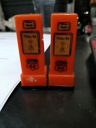 1950's Phillips 66 Gas Pumps Salt And Pepper Shakers