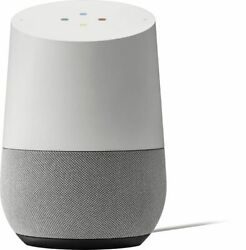 Google Home Smart Speaker with Google Assistant White Slate
