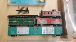 Vintage N Scale Atlas Con-cor Nyc New York Central Rolling Stock Lot Of 6