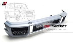 G65 A Style Body Kit Front Bumper Fits For Mercedes W463 G-class G500 G550 G63