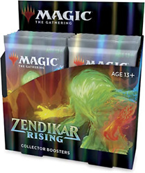 Zendikar Rising Collector Booster Box MTG Brand New Includes 2 box toppers