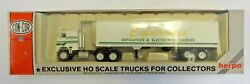Con-cor Ho Scale Tractor Trailer Bekins, Exportronics, In Box, Never Opened,