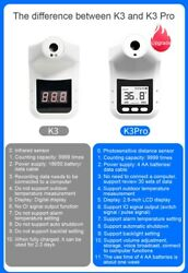 Wall-mount Non-contact K3 Pro Industrial Automatic Infrared Forehead Thermometer