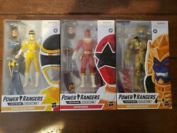 Power Rangers Lightning Collection In Space Yellow Ranger, Zeo Red Ranger ...