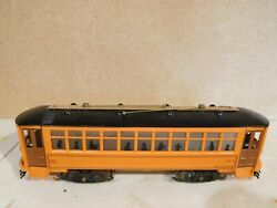 Lionel Ives Bowser Brass/metal O Scale 3 Rail Trolley