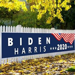 Biden 2020 Yard Sign Banner Garden Flag for Home Decorative House Larn Sign