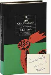 John Healy Grass Arena First Uk Edition Signed By The Author In 1st Ed 128460