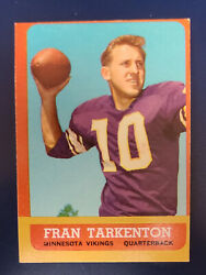 1963 Topps Football Cards Complete Your Set You Pick Choose Each 1 - 170