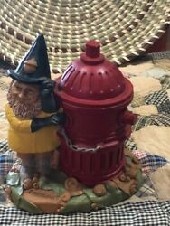 Tom Clark Tim Wolfe Gnomes Fireplugger Fireman  Excellent Store Display B