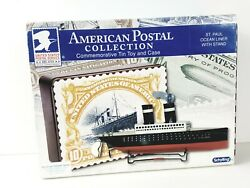 Schylling St. Paul Ocean Liner American Postal Collection Commemorative Tin Toy