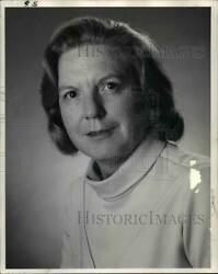 1983 Press Photo Betty Landers Executive Copy Chief And Board Chairman