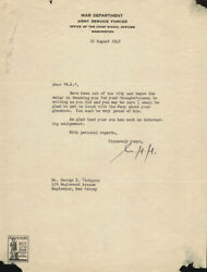 William H. Harrison - Typed Letter Signed 08/18/1943