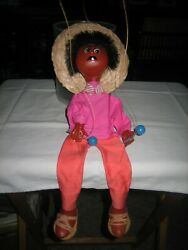 Authentic Mexican Man With Sombrero Marionette