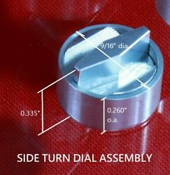 Star Trek Tos, Type Ii Phaser, P2, Side Turn Dial, Metal Phaser Part, Fits All
