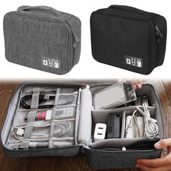 NEW Electronic Accessories Cable USB Charger Storage Bag Organizer Travel Case ⭐