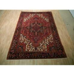 7x10 Authentic Hand Knotted Semi-antique Rug B-73162