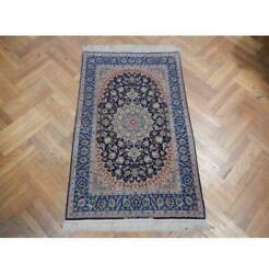4x6 Authentic Handmade Signed Wool And Silk Rug Pix-22761