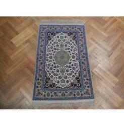3x5 Authentic Handmade High End Wool And Silk Rug Pix-22785