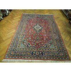 7x10 Authentic Hand Knotted Semi-antique Rug Pix-23673