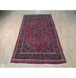 6x10 Authentic Hand Knotted Semi-antique Rug B-71972