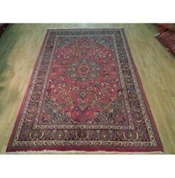 6x10 Authentic Hand Knotted Semi-antique Rug B-72184
