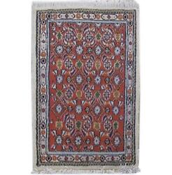 2x3 Authentic Hand-knotted Oriental Moud Rug B-82039