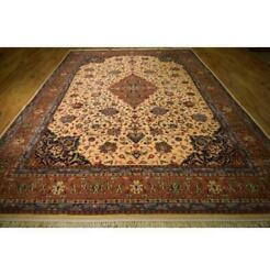9x13 Authentic Hand Knotted Rug La-53085