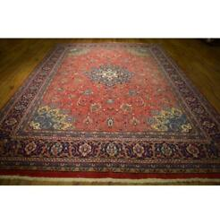Fascinating 9x13 Authentic Hand-knotted Rug La-52557