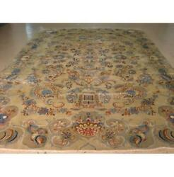 8x13 Authentic Hand-knotted Semi-antique Rug Pixg-991230