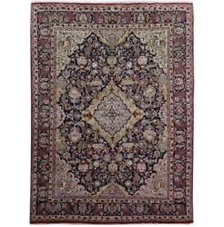 10x13 Authentic Hand-knotted Signed Kashmar Wool Rug Ivory B-81188