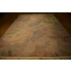 9x12 Authentic Hand Knotted Chinese Peking Rug La-52153