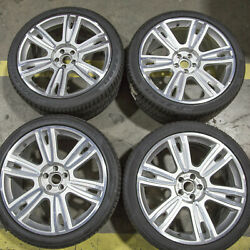 Set Of 4 Oem Bentley Continental Gt Gtc Rims Wheels And Pirelli Tires 3w0601025 Ce