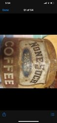 Rare Vtg None-such Chicago, Coffee Can Without Lid