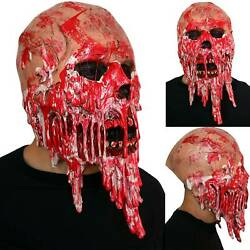 Halloween Adult Zombie Horror Head Mask Games Latex Scary Costume Party Props
