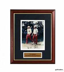 The Masters - Jack Nicklaus And Greg Norman - Signed - Authenticity Included