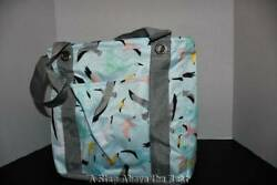 Thirty One Small Utility Tote In Flights Of Fancy Nwt