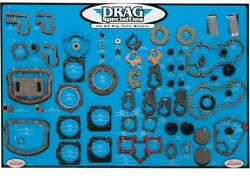 Drag Specialties Gasket Seal And O-ring Display For Big Twins 0934-0275